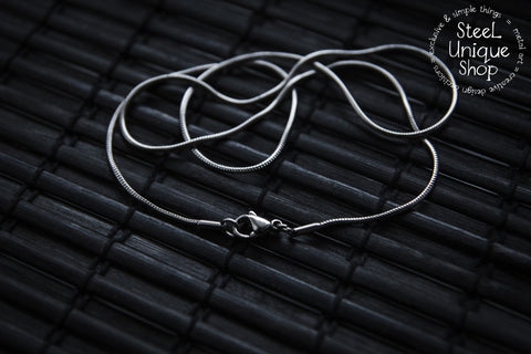 Stainless Steel Snake Chain Necklace