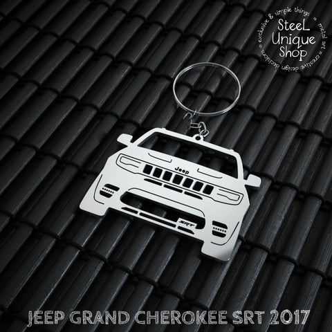 Jeep Grand Cherokee SRT 2017 Keychain