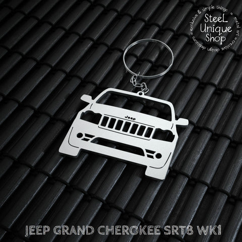 Jeep Grand Cherokee WK1 SRT8 Keychain