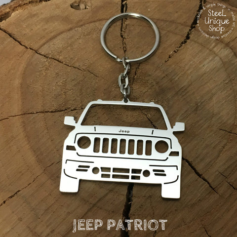 Jeep Patriot Keychain