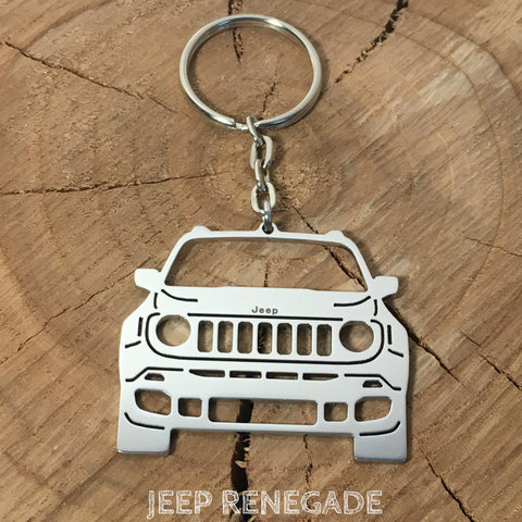 Jeep Renegade Keychain