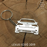 Lexus IS350 2019 Rear Keychain