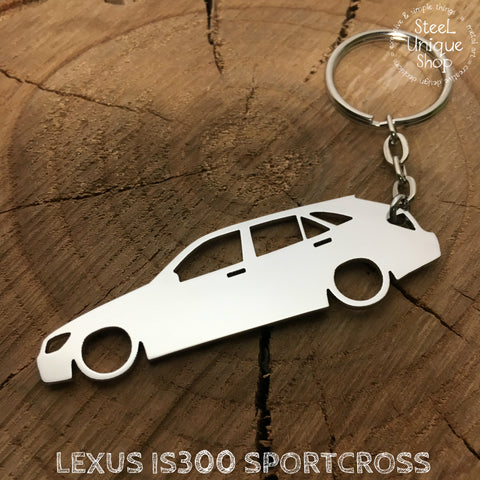 Lexus IS300 Sportcross Keychain