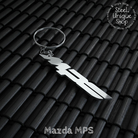 Mazda MPS Stainless Steel Keychain