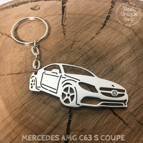 Mercedes AMG C63 S Coupe Keychain