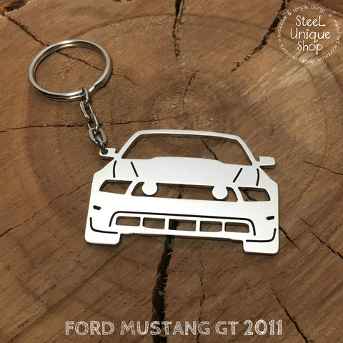 Ford Mustang GT 2011 Keychain