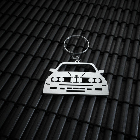 BMW E30 Stainless Steel Keychain