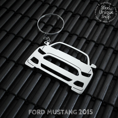 Ford Mustang 2015 Keychain