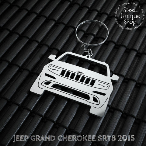 Jeep Grand Cherokee SRT8 Keychain