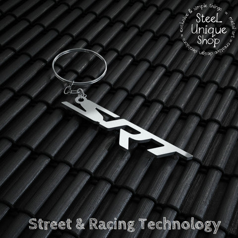 SRT Stainless Steel Keychain