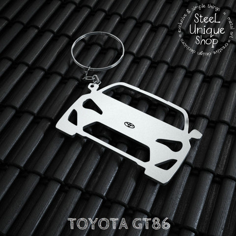 Toyota GT86 Front Keychain