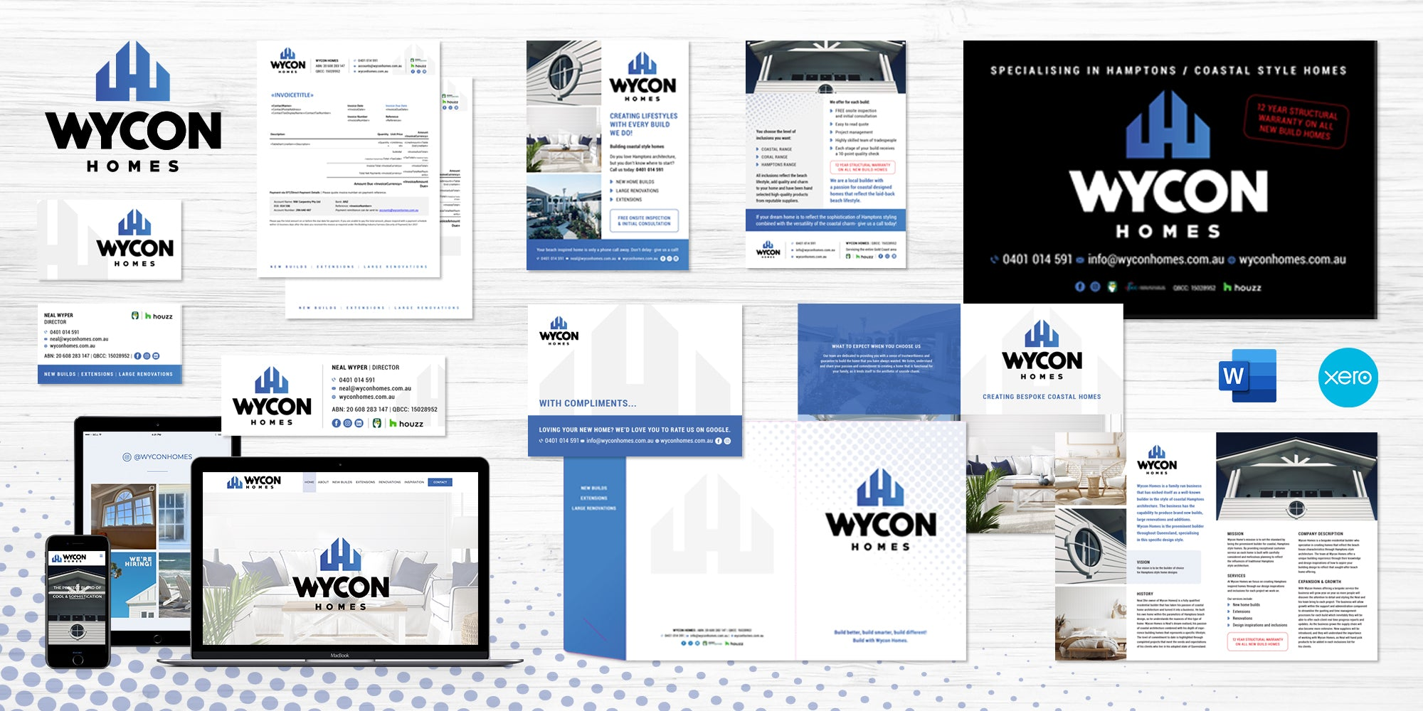 Tradie Packs Case Study - Wycon Homes