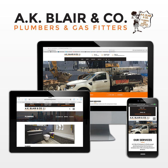 Plumbing Multi Page Themed Website