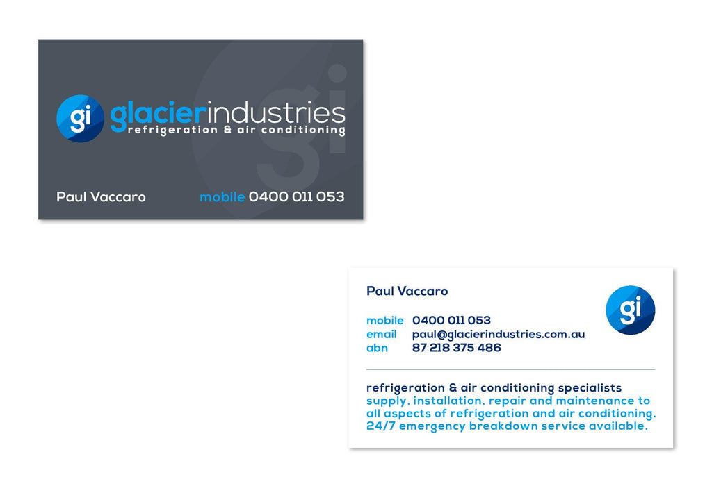 Aircon Business Cards - Tradie Packs