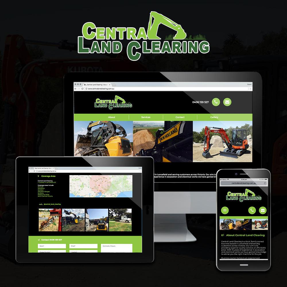 Land Clearing Website - Tradie Packs