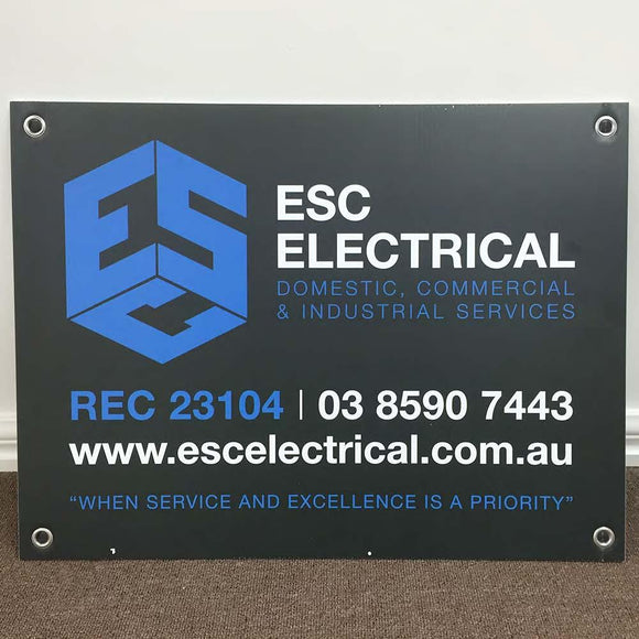 Small Corflute Signs - Tradie Packs
