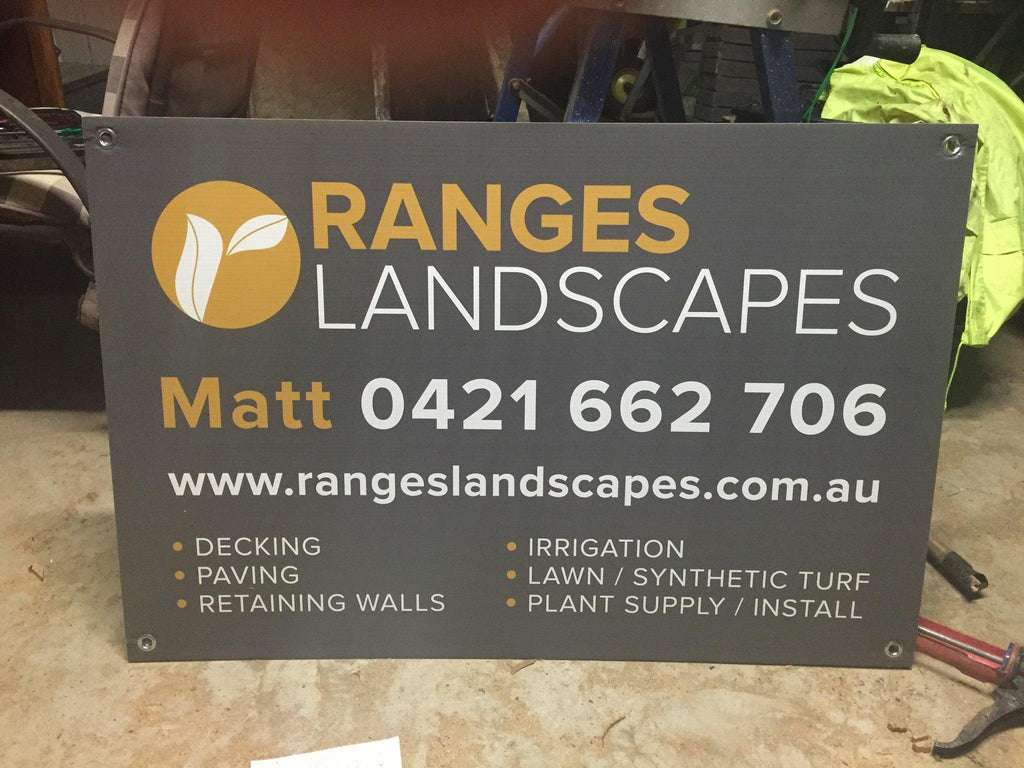 Corflute Signs - Tradie Packs