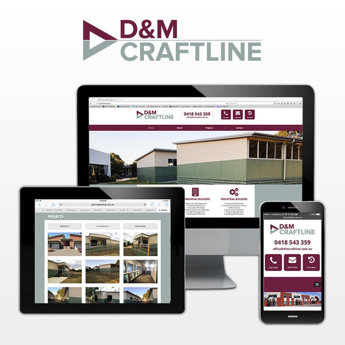 Builders Multi Page Website