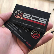 Electrician business card.