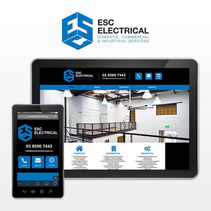 Electricians Multi Page Website
