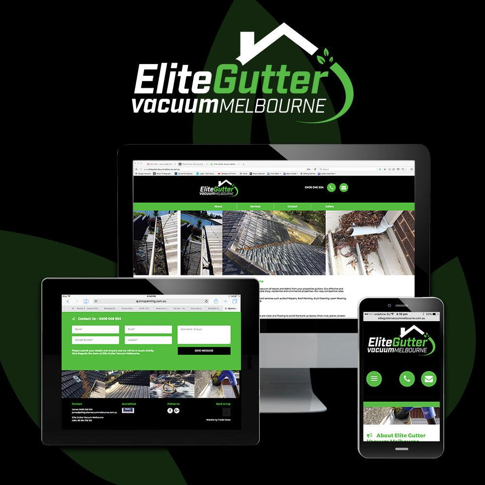 Gutter Cleaners Website - Tradie Packs