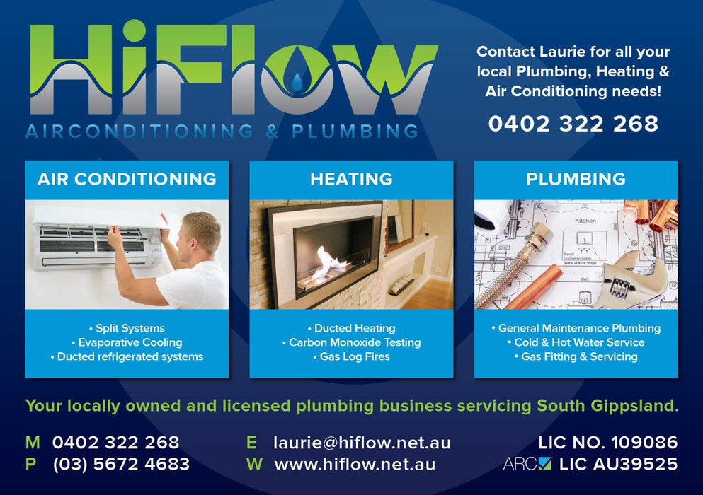 Plumbers A5 Flyer