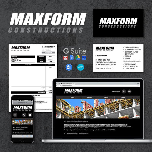Tradie Pack#3 - Maxform Constructions