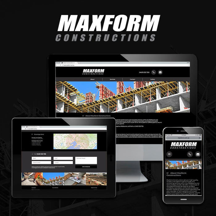 Construction Website - Tradie Packs