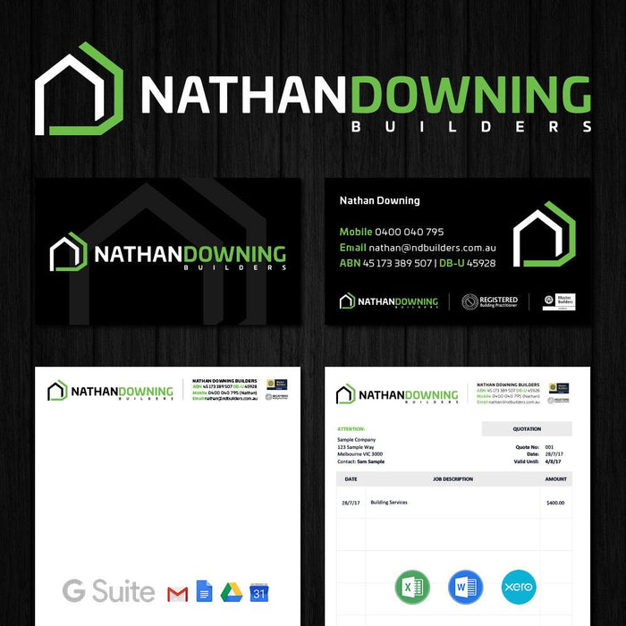 Tradie Pack #2 - Nathan Downing Builders