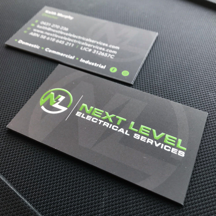 Electrical Services Premium Business Cards