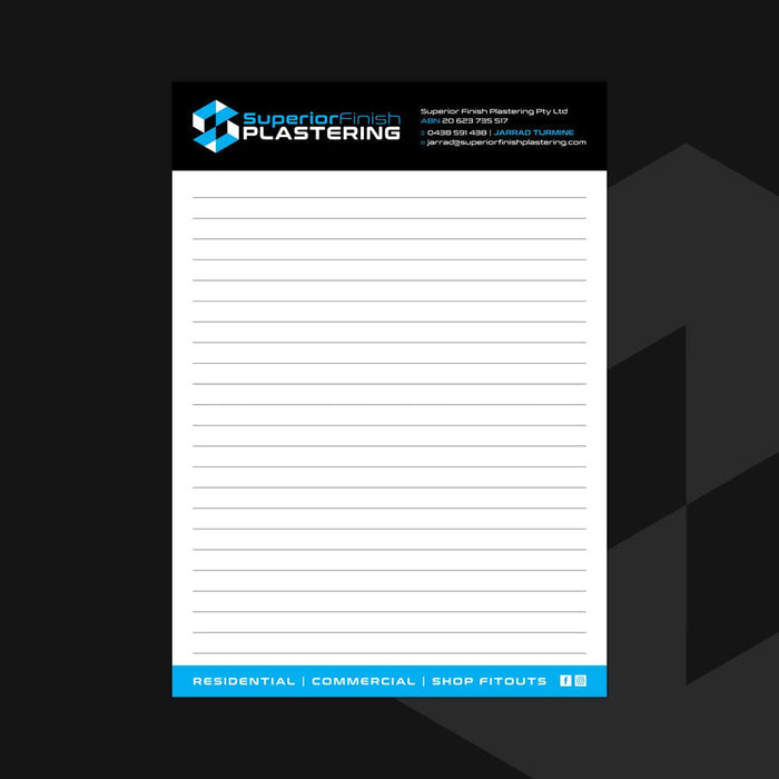 A4 Note Pads