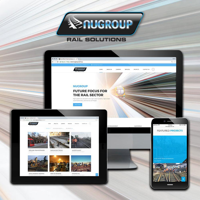 Rail Solutions Multi Page Themed Website