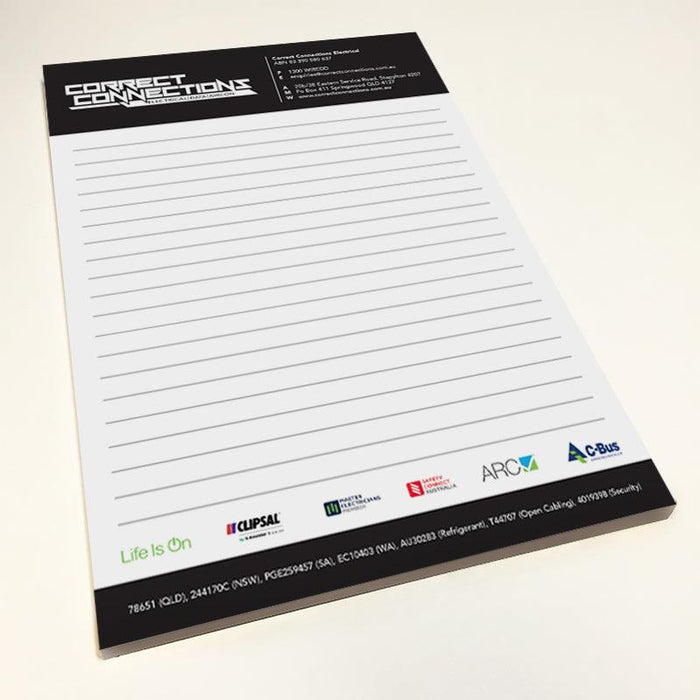 Note Pads - Tradie Packs