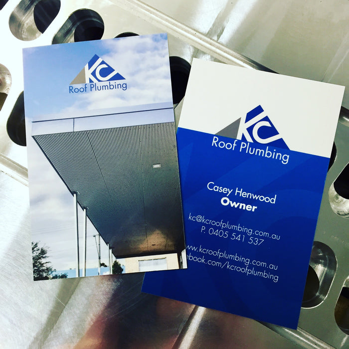 Roofing Premium Business Cards