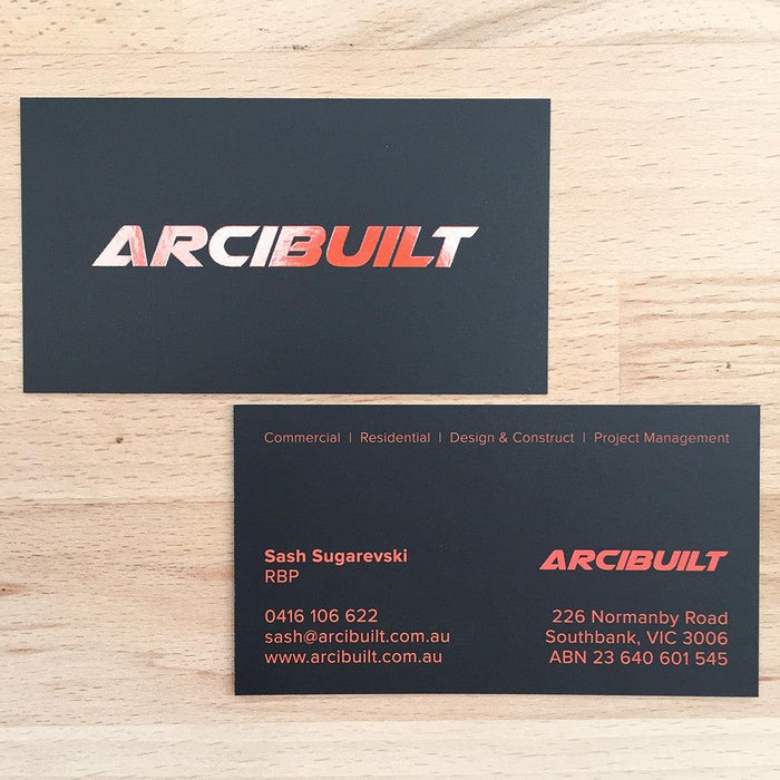 Builders Premium Business Cards