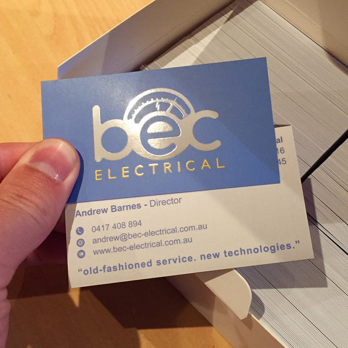 Electricians Premium Business Cards