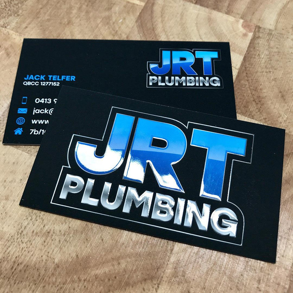 Plumbers Premium Business Cards