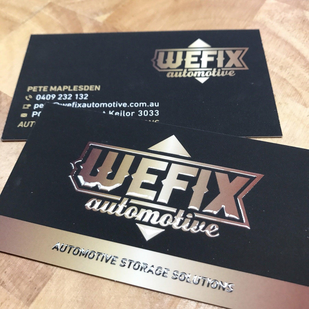 Automotive Premium Business Cards