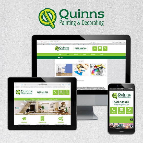Painters Multi Page Website