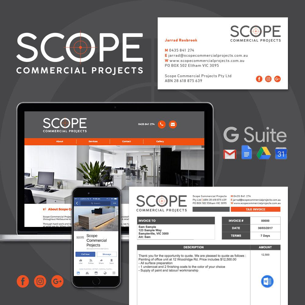 Tradie Pack #3 - Scope Commercial Projects