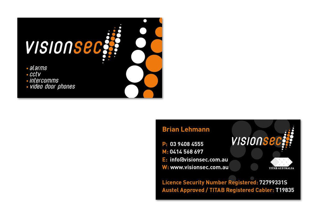Security Business Cards - Tradie Packs