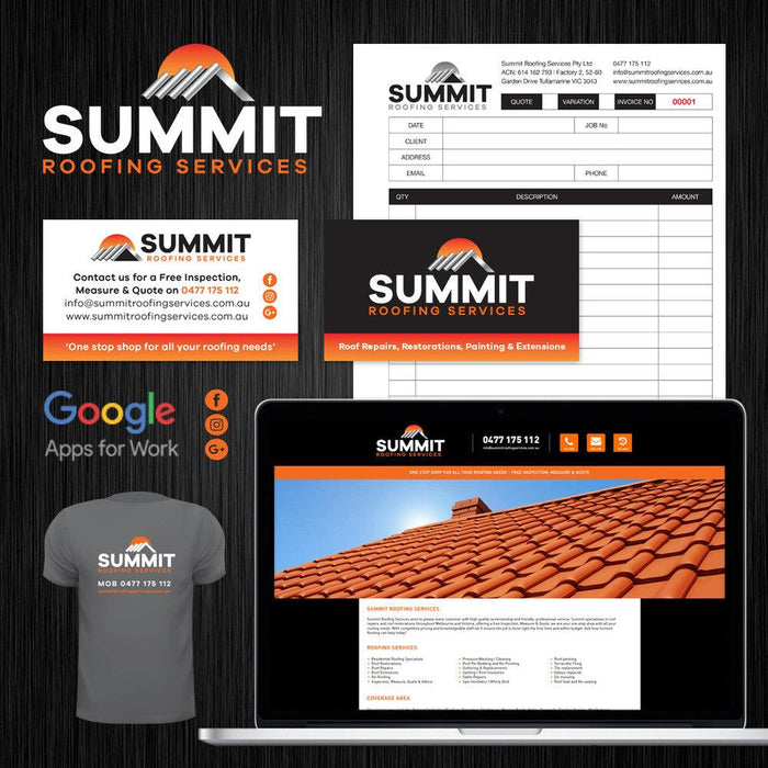 Tradie Pack #3 - Summit Roofing Services