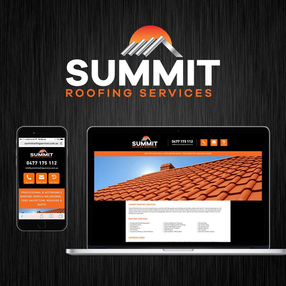 Roofing Website - Tradie Packs