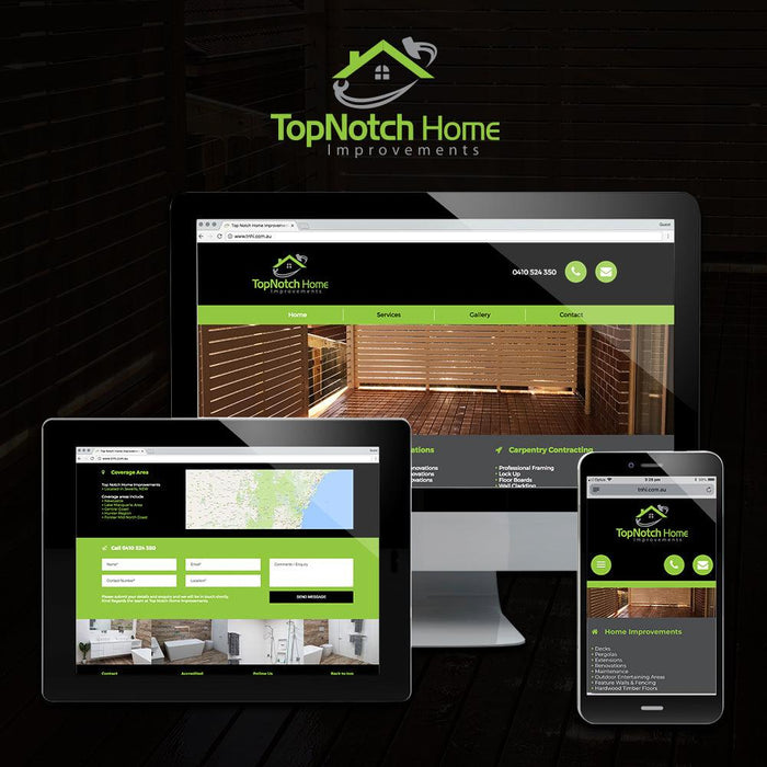 Home Improvements Multi Page Website