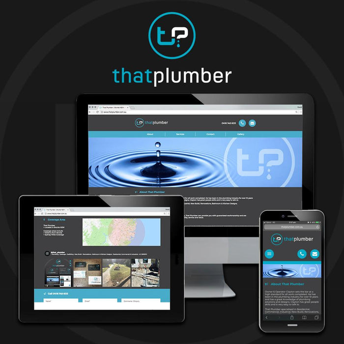 Plumbers Website - Tradie Packs