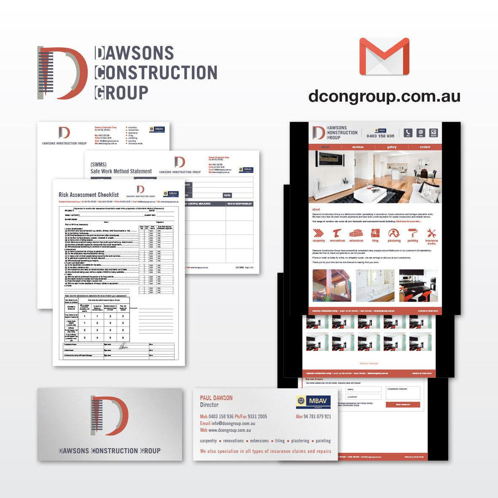 Dawsons Construction Group - Tradie Packs