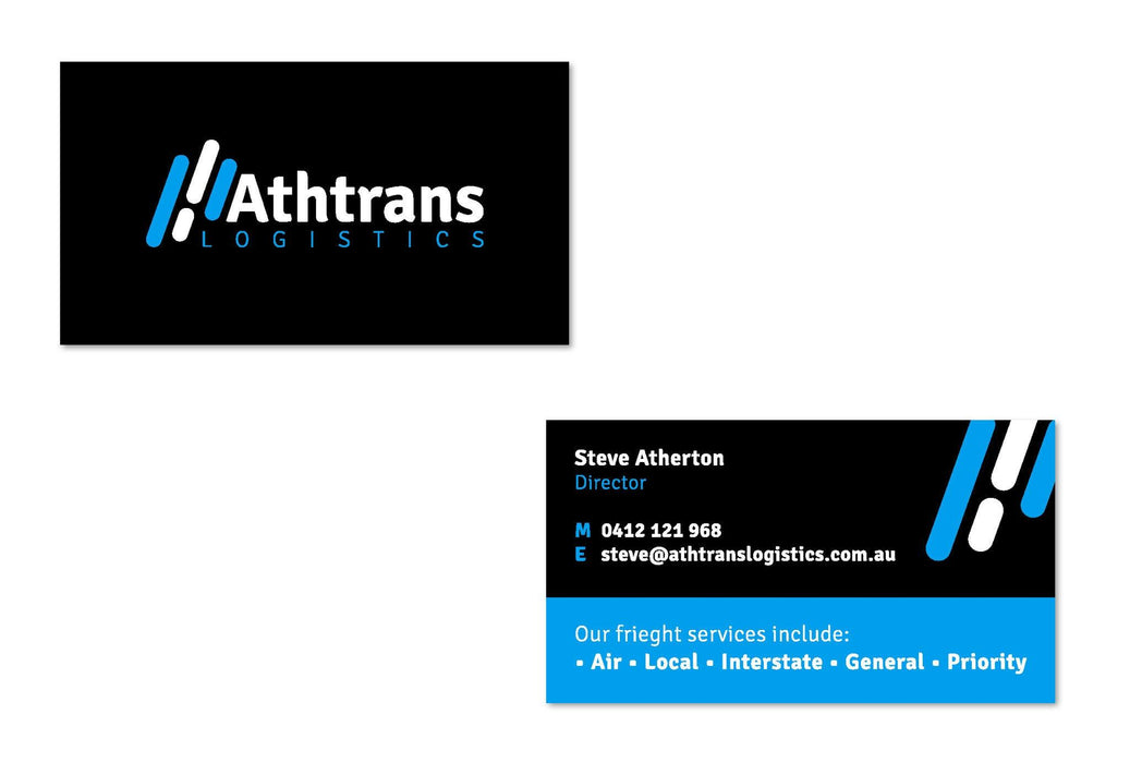 Logistics Business Cards - Tradie Packs