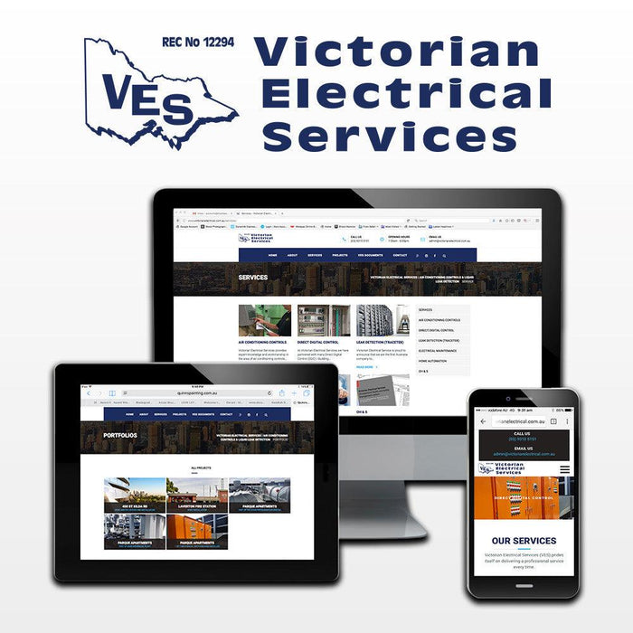 Victorian Electrical Services Website - Tradie Packs