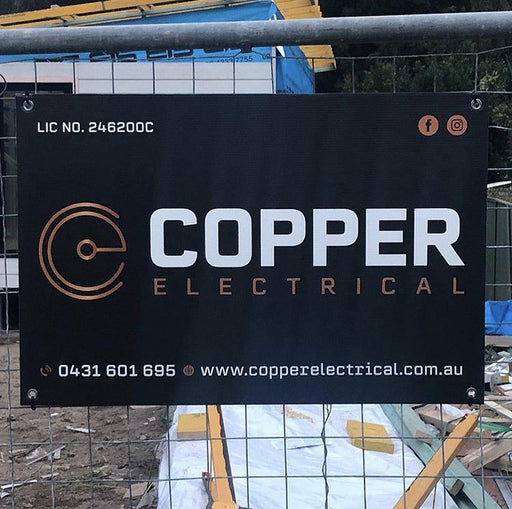 Branding Corflute Signs - 900 x 600mm