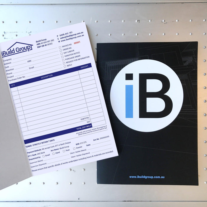 Invoice Carbonless Books - Tradie Packs